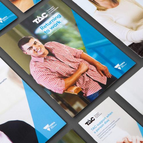 brochures, TAC brochures, brochure design melbourne