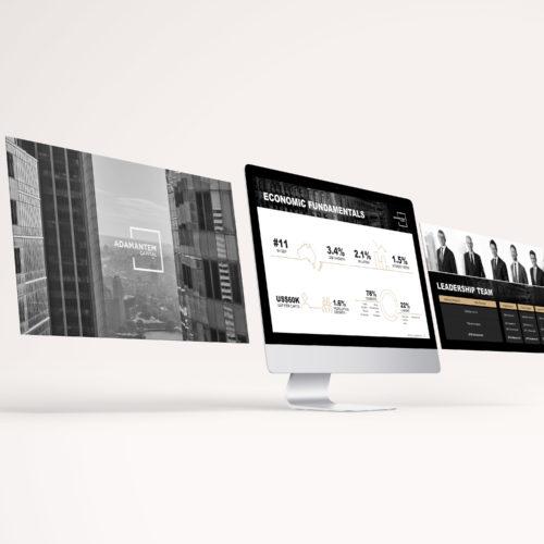 Adamantem Capital Presentation Design
