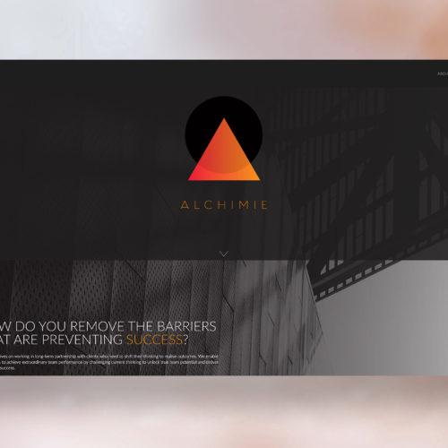 Alchimie Website Design