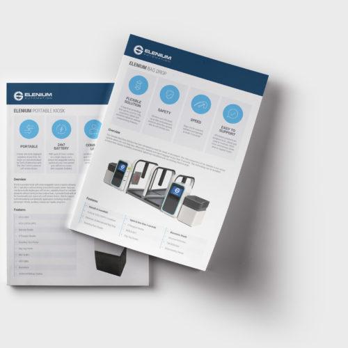 Elenium Automation flyer design