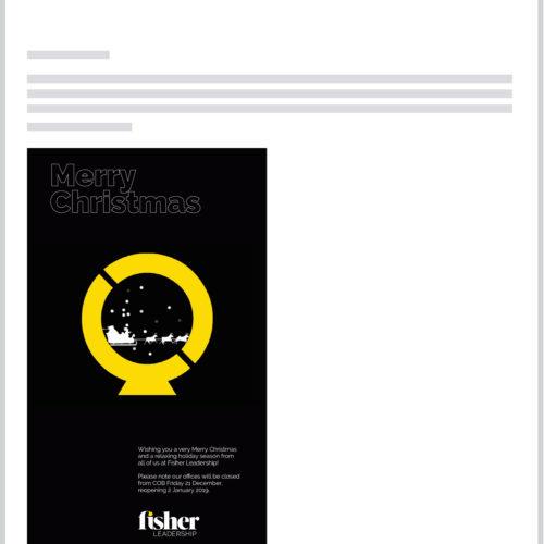 Fisher Leadership e-comms
